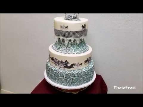 Wild Horse Cake Tutorial
