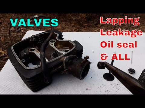 Valve Lapping Complete Detail.