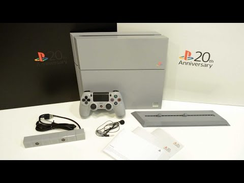 Unboxing PlayStation 4 - 20th Anniversary Edition console