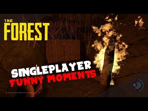The Forest (SinglePlayer) Funny Moments Timmy's Butt Plug!