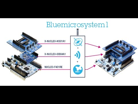 STM32 Nucleo Board and X-NUCLEO-IKS01A1 Expansion Board Interfacing