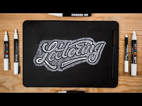 Hand Lettering | How To Letter On ANYTHING! 🖌