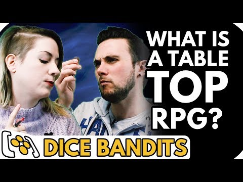 Tabletop RPG Basics: How the D20 System Works - Dice Bandits Teaser