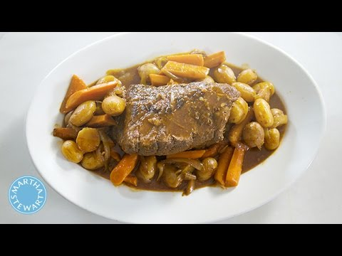 Martha Stewart's Classic Pot Roast Recipe - Martha Stewart