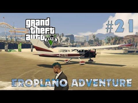 Grand Theft Auto V Philippines #21   Eroplano adventure