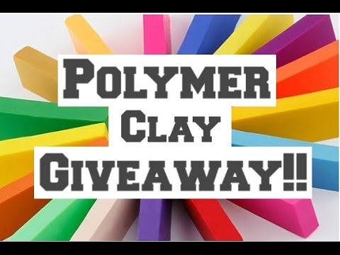 Polymer Clay Giveaway!!! (CLOSED)
