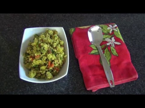 Millet Upma - Millet recipe