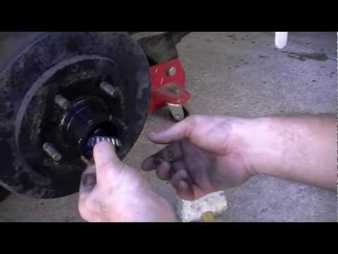 How to rebuild and bleed surge style trailer brakes Part I