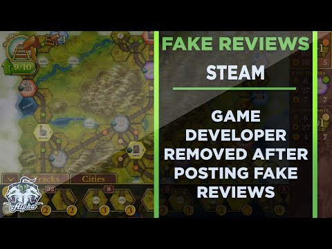 Developer Removed From Steam for Posting Fake Reviews