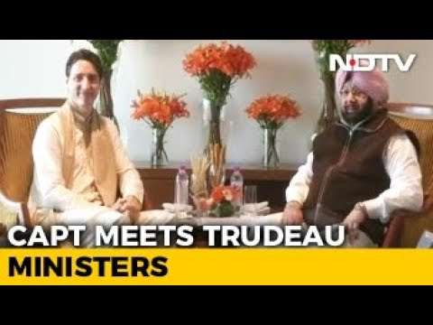 Justin Trudeau In Punjab: Amarinder Singh Discusses Khalistan Issue With Canadian PM