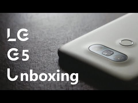 New Phone! - LG G5 Unboxing