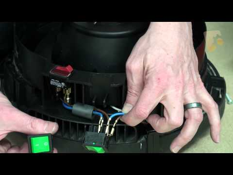 How to replace the On/Off Switch - Henry Vacuum Cleaner