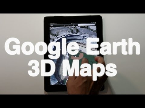 Google Earth 3D Maps