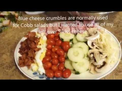 How to make a Cobb Salad - 99 CENTS ONLY store recipe