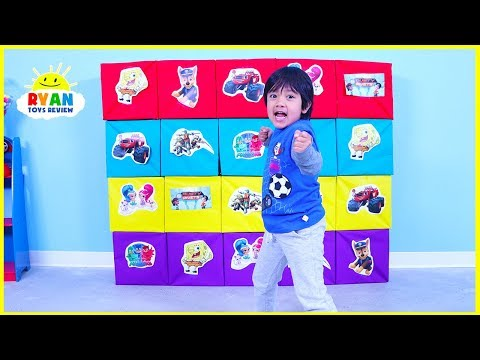 Giant Smash Surprise Presents with Paw Patrol, Rusty Rivets, and PJ Masks