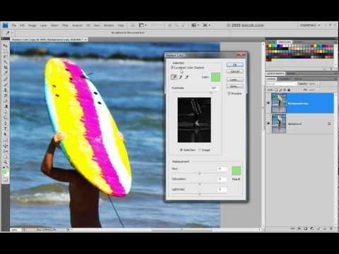 Curso Photoshop CS4 - Aula 15 - Replace Color