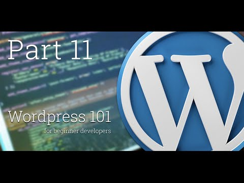 WordPress 101 - Part 11: The single.php file, tags, edit links and comment template