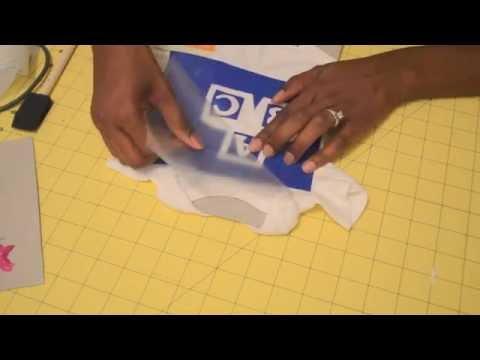 DIY Design a Onesie Shower Kit
