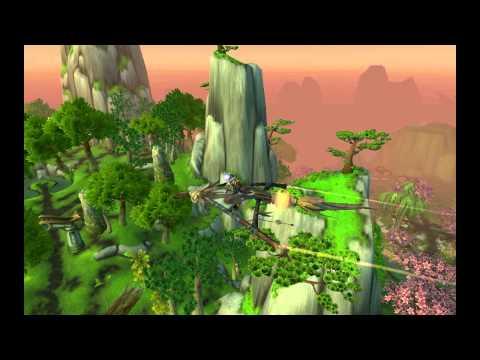 New Flight Path Mount - Mists Of Pandaria Beta MoP - World Of Warcraft