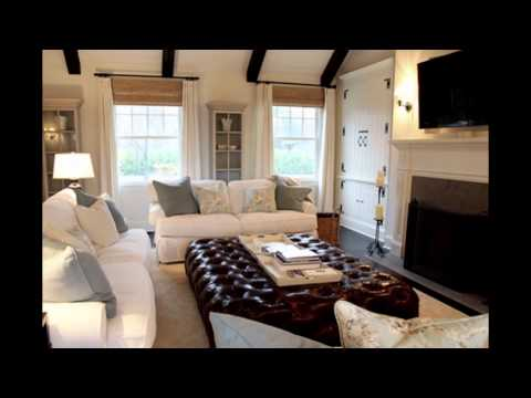 Beautiful Picture of Family Rooms with Corner Fireplaces Leather Furniture Basements
