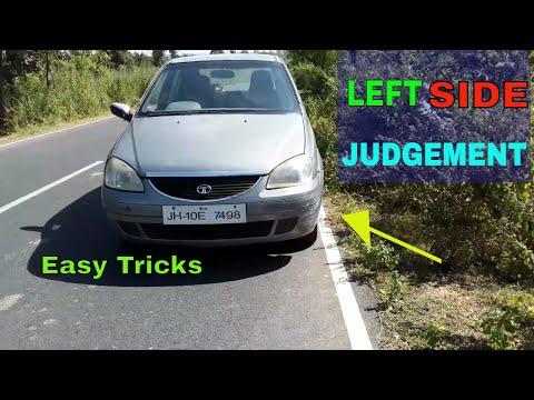 Left Side Judgement in Car ( Hindi Me ) Easy Tricks