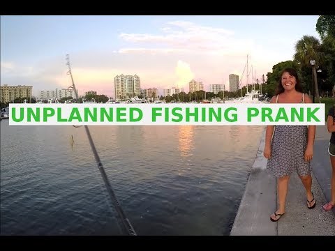Funny Fishing Prank Unplanned Surprise