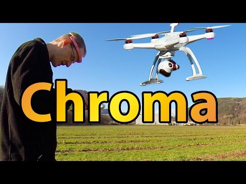 Blade Chroma Part 2 - Flighttests, Return to home, following, remove the Geofence (200m limit)