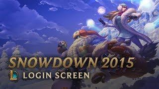 Snowdown 2015   Login Screen - League of Legends