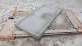 Diy Project Concrete Table Top 3 Years Ago