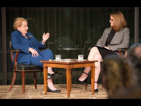 A Conversation with Madeleine Albright