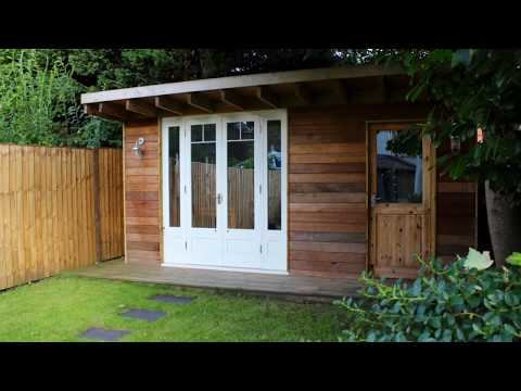 Man Cave -  She Shed - Garden Office - A step by step guide