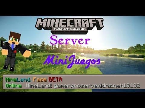 Minecraft Pe 0.11.0 Build 4 | Server MiniGames