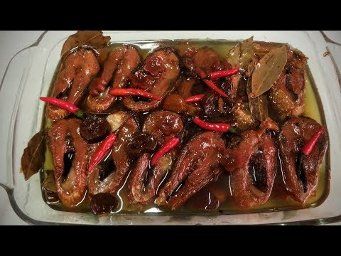 Bangus In Oil Recipe (with Soy Sauce)
