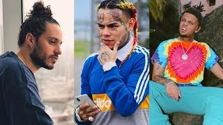 "6ix9ine ""Reacts To Russ Setting Up Smokepurrp"""