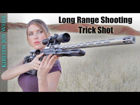 Long Range TRICK SHOT - STANDING Position! - EGG (Crazy TINY Target)