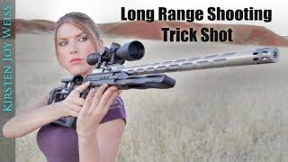 Long Range TRICK SHOT - STANDING Position! - Crazy TINY Target