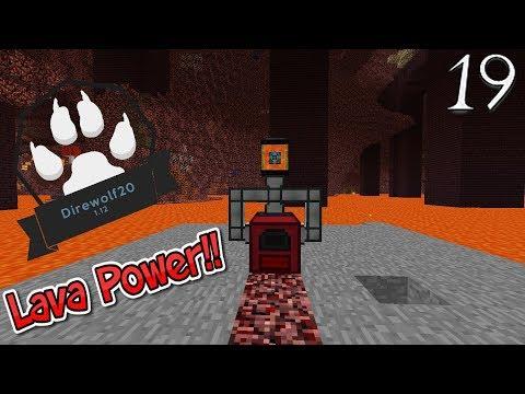 Lets Play Minecraft Direwolf20 1.12 - Lava Power (19)