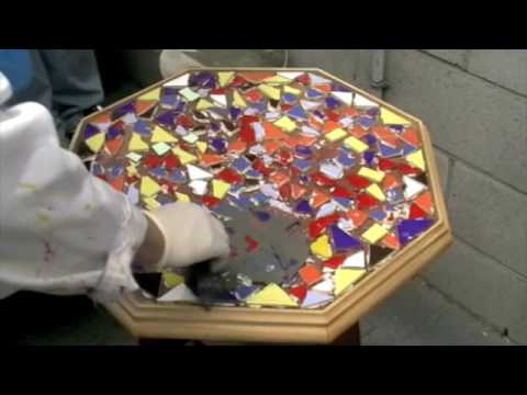 How To- Mosaics Grouting & polishing