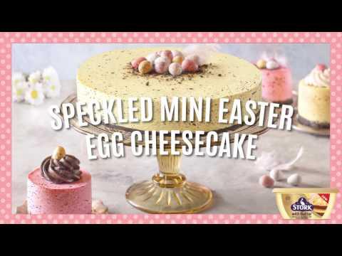 Mini Easter Cheesecake Recipe » Bake With Stork