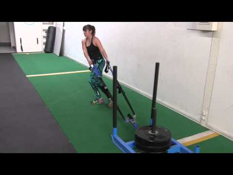 Sled Exercises -16 Sled Workout Moves and Sled Alternatives