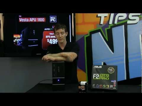 NCIX PC Labs Vesta APU 1100 Entry Level Compact System NCIX Tech Tips