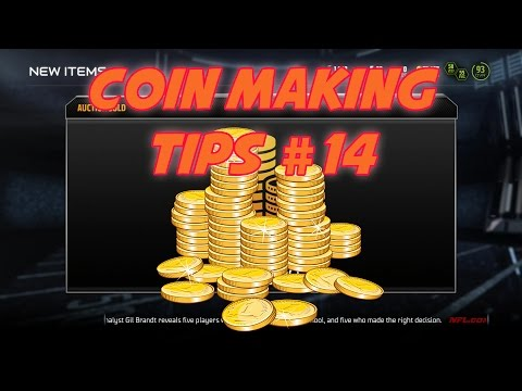 Madden 15 Ultimate Team - [Coin Making Tips] #14