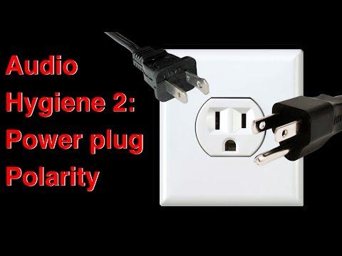 02 Audio hygiene 2  Power plug polarity