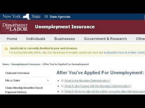 Can I Collect New York State Unemployment And Receive Company Pension Payments?
