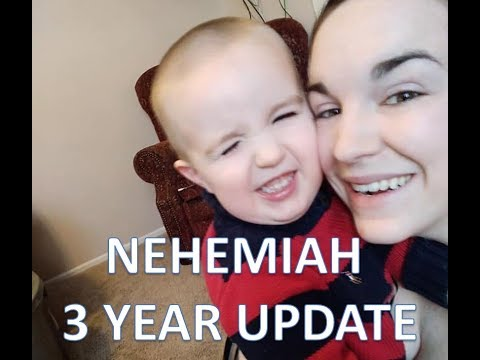 Nehemiah's 3 Year Update | Toddler Tag!