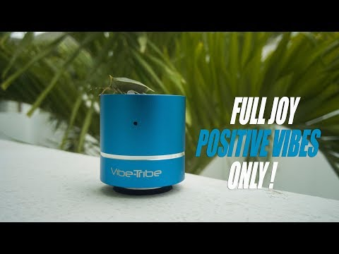 Is this the most Fun Vibration Speaker? Vibe-Tribe Troll Mini