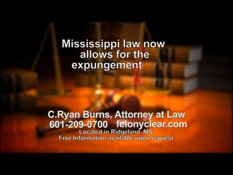 Clearing your criminal record in Mississippi