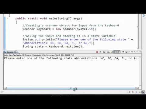 Java Tutorial - 11 - Comparing Strings