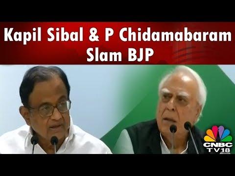 Kapil Sibal & P Chidambaram Slam Karnataka Gov & BJP Over Govt Formation   Election Breaking