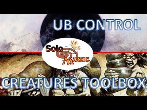 Partida comentada Modern: UB Control vs Creatures Toolbox #mtg